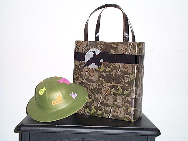 """Camouflage """"Duck"""" Tote Bag"""