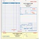4-Part Service Order, Carbonless SOCC-505 Qty. 250