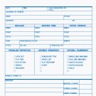 RS-242: Road Service Form, Carbonless 3pt QTY. 500