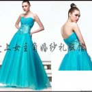New Sexy Prom/Ball/Evening strapless WeddingDress Custom Size  voile W003-15
