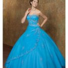 Ball Gown Strapless Floor Length Satin wedding dress for brides 2010 style(BST0153)