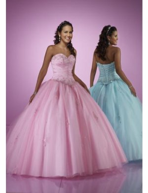 Ball Gown Sweetheart Floor Length Organza wedding dress for brides 2010 style(WDE0164)