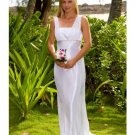 Column/Sheath Square Sweeping Train Satin wedding dress for brides 2009 Style(WD0002 )