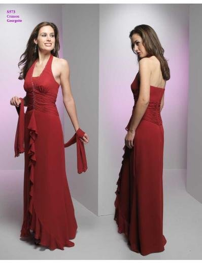 A-Line Halter Top Floor- Length Satin Mother of the Bride Dresses new Style(MWYN023)