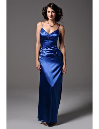 A-Line Spaghetti Straps Floor- Length Satin Mother of the Bride Dresses new Style(MWYN061)