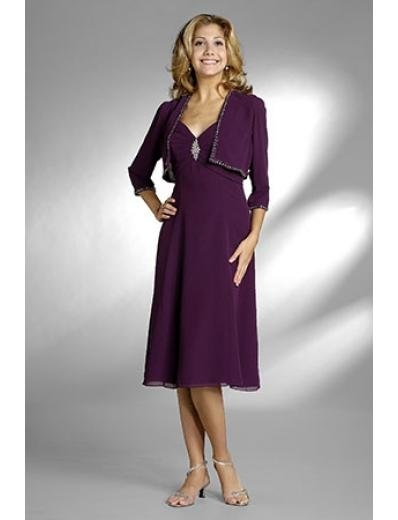 A-Line V-neck Floor- Length Chiffon Mother of the Bride Dresses new Style(MWYN024)