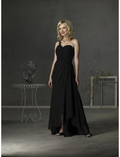 A-Line asymmetric Floor- Length Chiffon Mother of the Bride Dresses new Style(MWYN016)
