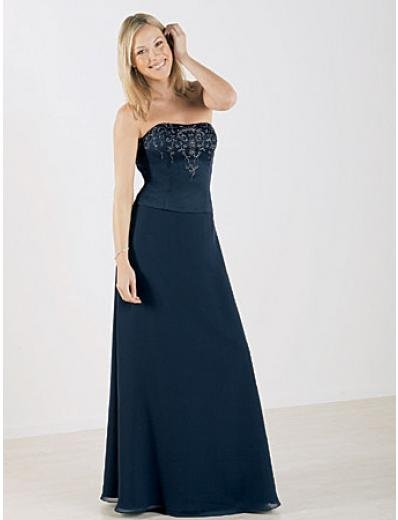 A-Line Strapless Floor Length Satin Mother of the Bride Dresses new style(MWYN110)