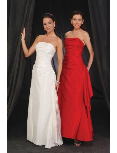 A-Line Strapless Floor- Length Taffeta Mother of the Bride Dresses new Style(MWYN117)