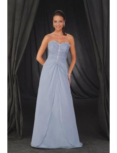 A-Line Sweetheart Floor- Length Chiffon Mother of the Bride Dresses new Style(MWYN114)