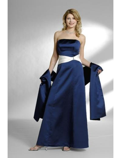 A-Line Strapless Floor- Length Satin Mother of the Bride Dresses new Style(MWYN124)