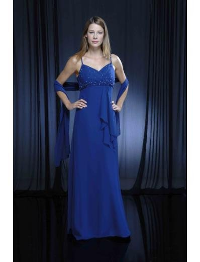 Column/Sheath Spaghetti Straps Floor Length Chiffion Mother of the Bride Dresses new style(MWYN085)