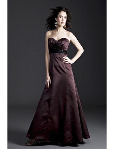 A-Line SweetHeart Tea-length Taffeta Mother of the Bride Dresses(MBD0093)