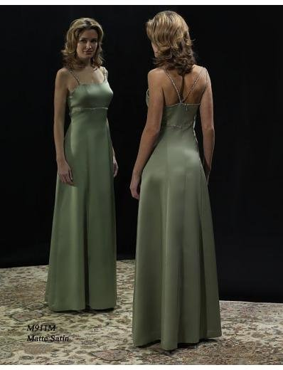 Column/Sheath Spaghetti Straps Tea-length Satin Mother of the Bride Dresses new style(MWYN065)