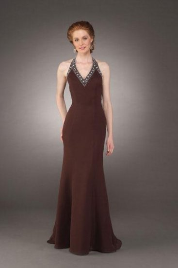 A-Line Halter Top Floor Length Chiffon Mother of the Bride Dresses new style(MBD0064)