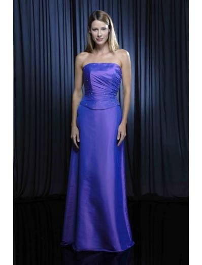 Column/Sheath Strapless Floor Length Taffeta Mother of the Bride Dresses new style(MWYN091)