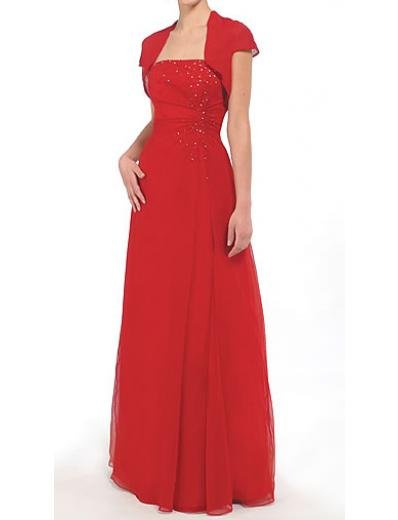 A-Line Strapless Floor- Length Chiffon Mother of the Bride Dresses new Style(MWYN008)