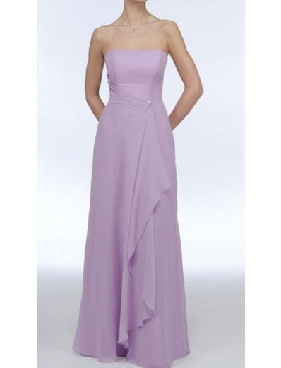 A-Line Strapless Floor- Length Chiffon Mother of the Bride Dresses new Style(MWYN011)