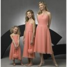 A-Line/Princess Halter Top knee-length Chiffon Bridesmaid Dresses for brides new style(BD0267)
