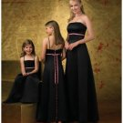 A-Line/Princess Strapless Floor-Length Satin Bridesmaid dress for brides new Style(BD0253)