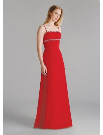 A-Line/Princess Spaghetti Straps Floor-Length Satin Bridesmaid dress for brides new Style(BD0207)