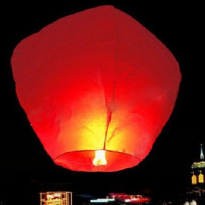 80 PCS SKY FIRE FLYING CHINESE SKY LANTERNS XMAS PARTY GIFT