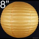 50 pcs WHOLESALE LOTS 8'' Orange Paper Lantern Lamp Birthday Holiday Wedding Party Supplies
