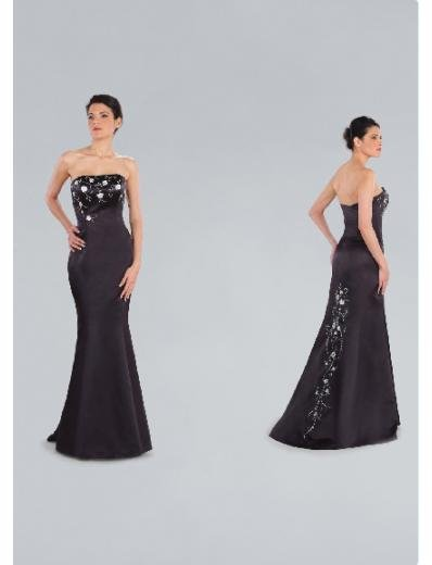 Mermaid Strapless Sweeping Train Satin Bridesmaid Dresses for brides new Style(BD0188)