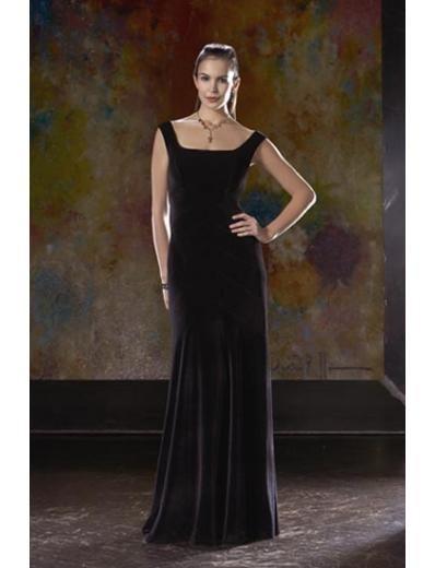 A-Line/Princess Scoop Floor-Length Satin Bridesmaid dress for brides new Style(BD0062)
