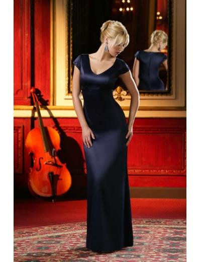 Column/Sheath Scoop Floor-length train Satin Bridesmaid Dresses for brides new style(BD0016)