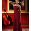 Column/Sheath Strapless Floor-length train Satin Bridesmaid Dresses for brides new style(BD0017)