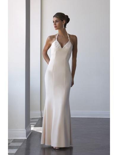 Mermaid Halter Top Floor-Length Satin Bridesmaid Dresses for brides new Style(BD0037)
