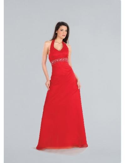 A-Line/Princess Halter top Floor-length Satin Bridesmaid Dresses for brides new Style(BD0196)