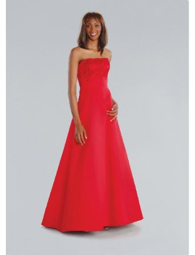 A-Line/Princess Strapless Floor-length Satin Bridesmaid Dresses for brides new Style(BD0197)