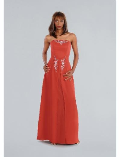 Empire Strapless Floor-length Chiffon Bridesmaid Dresses for brides new Style(BD0200)