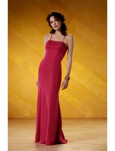 A-Line/Princess Spaghetti Straps Floor-Length Satin Bridesmaid dress for brides new Style(BD0068)