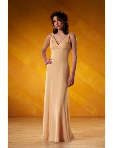 A-Line/Princess V-neck Floor-Length Chiffon Bridesmaid dress for brides new Style(BD0073)