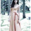 A-Line/Princess Strapless Tea-length Satin Bridesmaid dress for brides new Style(BDS0027)