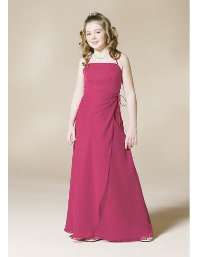 A-Line/Princess Spagetti Straps Floor Length Satin Bridesmaid dress for brides new Style(BD0339)