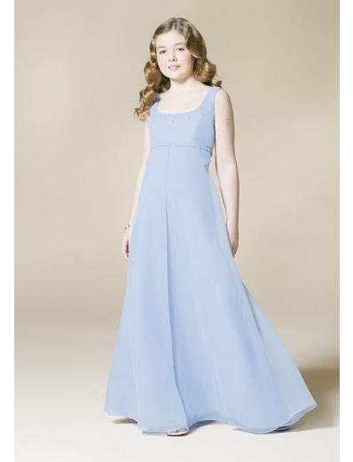 A-Line/Princess Scoop Floor Length Chiffon Bridesmaid dress for brides new Style(BD0335)