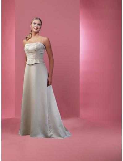 A-Line/Princess Spaghetti Straps Floor length Satin Bridesmaid dress for brides new Style(BD0220)