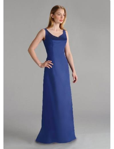 Column/Sheath Scoop Floor-length train Satin Bridesmaid Dresses for brides new style(BD0213)