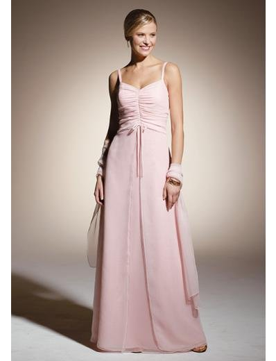 A-Line/Princess Spagetti Straps Floor length Chiffon Bridesmaid dress for brides new Style(BD0313)