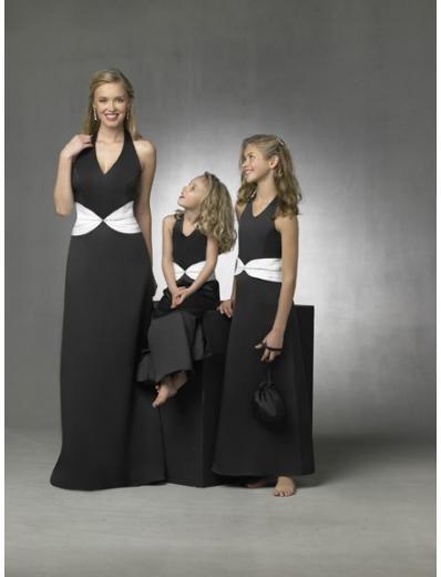 Column/Sheath Halter Top Floor Length Satin Bridesmaid Dresses for brides new style(BD0279)