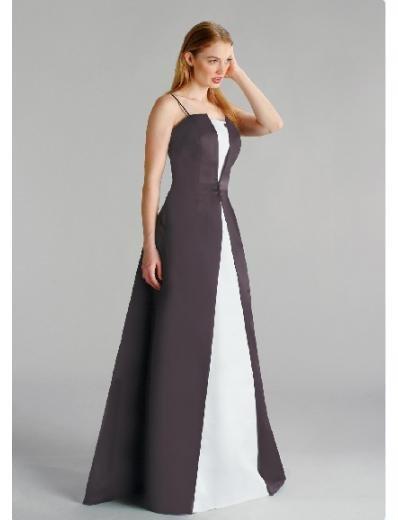 A-Line/Princess Spaghetti Straps Floor length Satin Bridesmaid dress for brides new Style(BD0215)