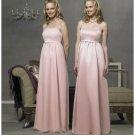 Empire spaghetti straps Length Satin Bridesmaid Dresses for brides new style(BD0284)