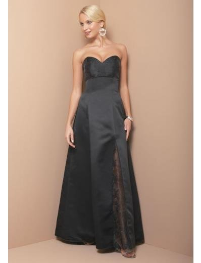 A-Line/Princess SweetHeart Floor-Length Satin Bridesmaid dress for brides new Style(BD0327)