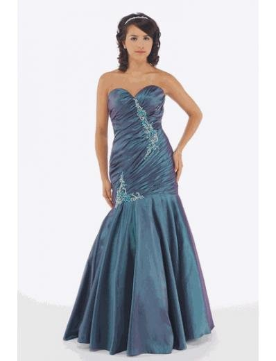 Mermaid Sweetheart Floor Length Satin Bridesmaid Dresses for brides new style(BMD0219)
