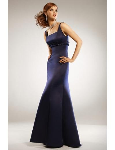 A-Line/Princess Square Floor-Length Satin Bridesmaid dress for brides new Style(BMD0030)