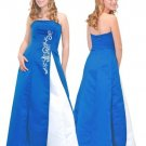 A-Line/Princess Strapless Floor Length Satin Bridesmaid dress for brides new Style(BMD0108)